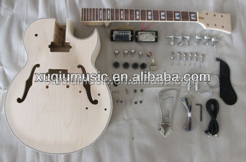 SNGK046 Hollow Body Guitar Kit Copy ES-175