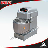 Double Mixing Speed Digital Control 50L Flour Mixer/Electric Dough Kneader/Dough Mixer Kneader