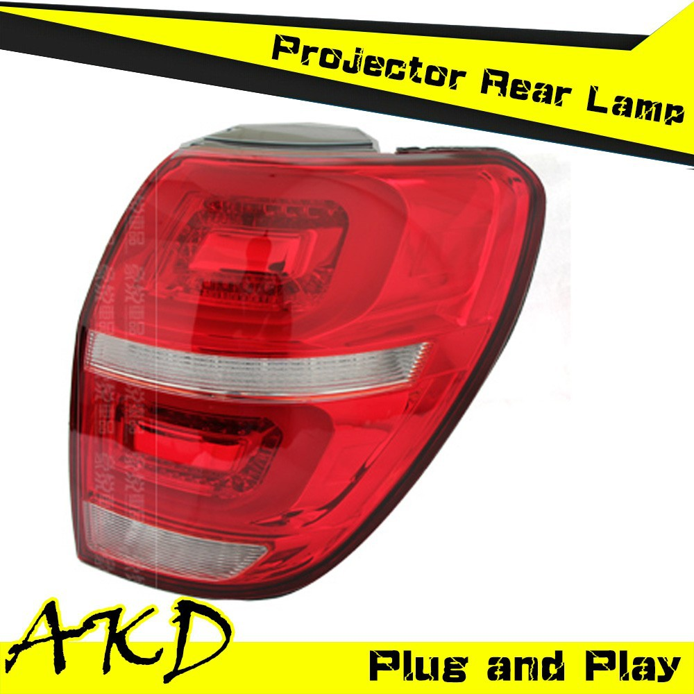 AKD Car Styling Chevrolet Captiva Tail Lights 2008-2014 Captiva LED Tail Light led Rear Trunk Lamp DRL+Turn Signal+Reverse+Brake