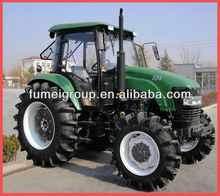 agricultural machinery 90hp 4wd farm tractors