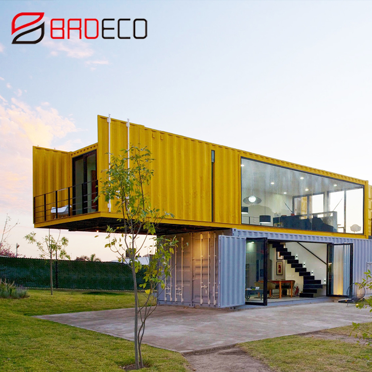 BRD 20ft 40ft modern prefab shipping container homes /house design for sale in usa