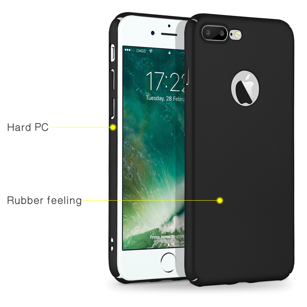 For iPhone 7 Plus Hard PC Rugged Case Cover , Matte Anti Slip Mobile Phone Case For iPhone 7Plus