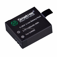 Smatree Action Camera Accessories SJ4000 Battery For Sport Camera SJ4000 SJ5000 Sport Camera Battery