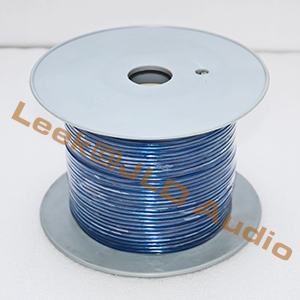 2 Cores 16GA or 16AWG Paired Blue Speaker cable wire