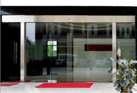HB52 ISO certificate manufacturer price hotel automatic glass sliding door