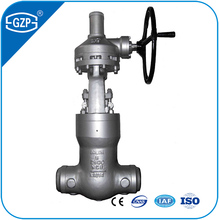 CE ISO TS Rising Stem Bolted Bonnet gear operated WCB A216 carbon steel 8 inch DN200 Flange Handwheel Gate Valve of welded