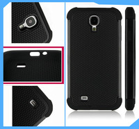2 in one Football line design soft tpu cell phone cover case for samsung galaxy s4
