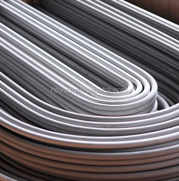 <strong>Stainless</strong> Steel ASTM A789 S31803 U-bent Tube for Heat Exchanger