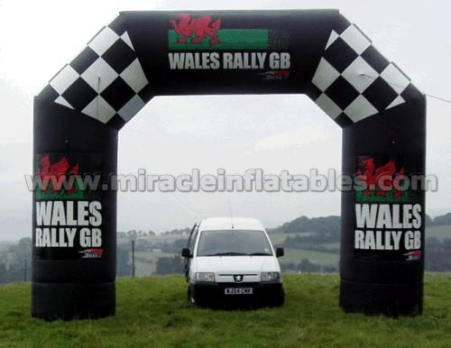 Promotion inflatable entry arch inflatable archways for car C2007