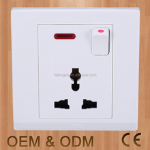 Pakistan sockets switch, flush type wall socket, multi switch power socket