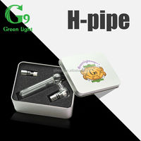 HPipe! Greenlightvapes fashion designing high end glass water pipes