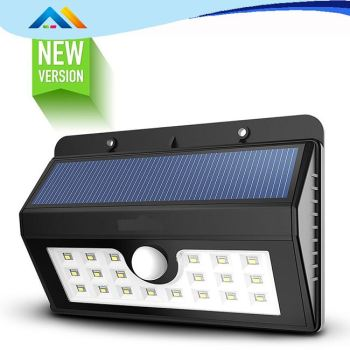 Hot Sell Outdoor solar street light solar rechargeable light for Stair floodlight