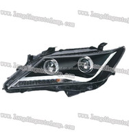 TOYOTA auto parts/ CAMRY automotive headlight with day running light