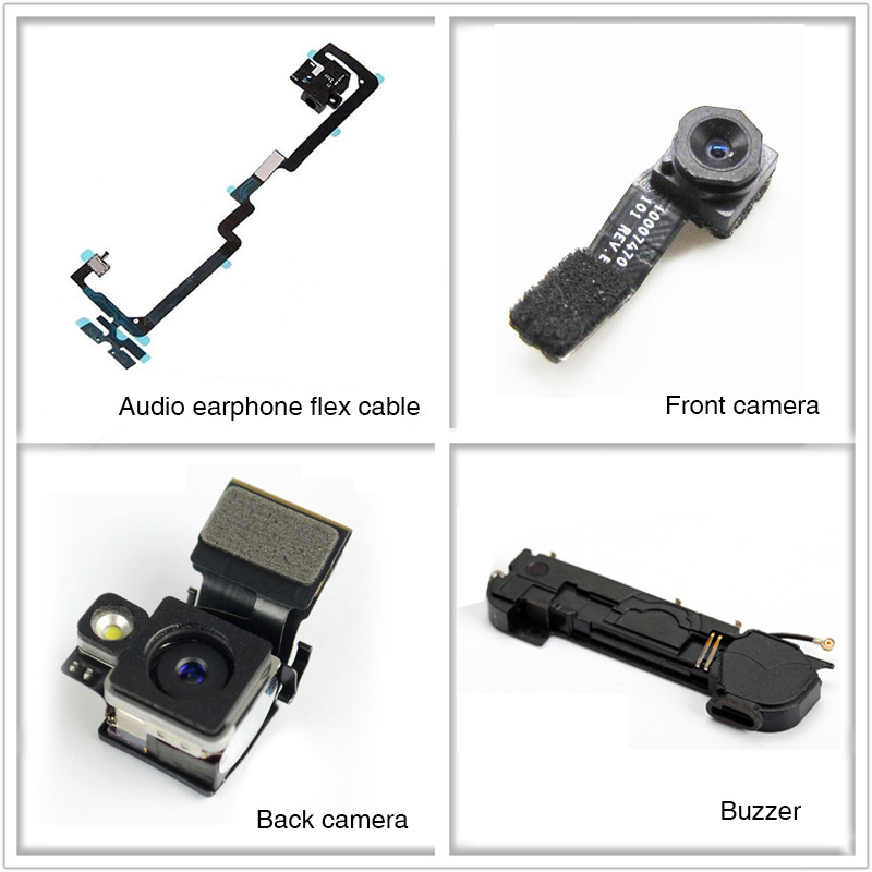 Wholesale mobile phone spare parts Front CAM for iphone 4/ 4s/ 5/ 5s/ 5c/ 5se/ 6/ 6plus/ 6s/ 6s plus