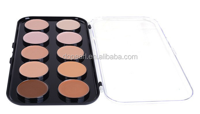2015 new cosmetics contour makeup 10 color concealer palette
