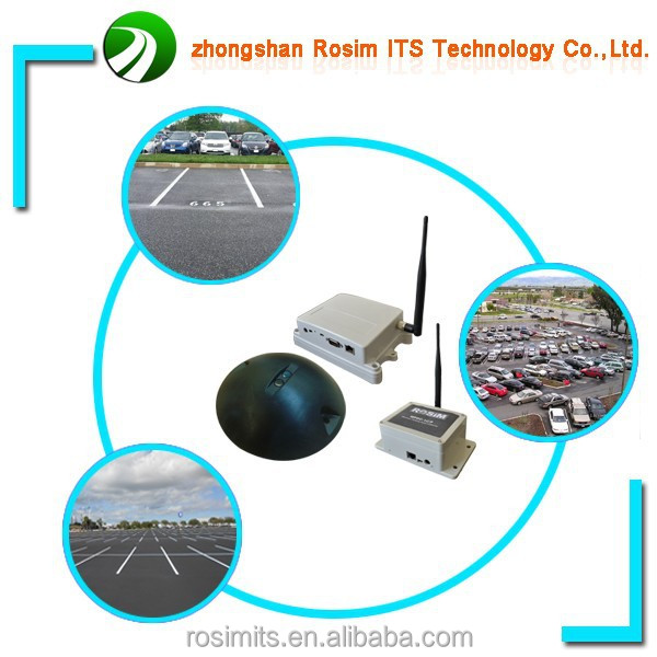 Wireless magnetic parking detector for parking meter