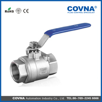 low price stainless steel 304/316 ball valve for water