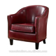 Antique Bedroom Kildare Tub Leather Chair For sale