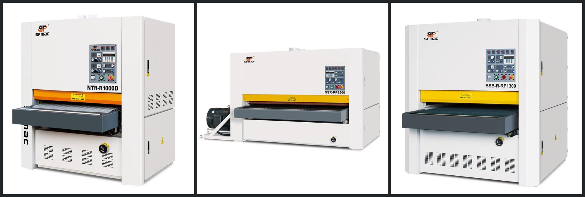 NTR-R1000D Qingdao Furniture solid wood composite board sanding machine