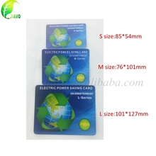 can customized to 16000 ions energy saver card / nano energy saver card / electricity power saving card