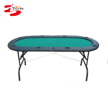 72 inch Folding Texas Holdem 8 Person Wholesale Poker Table for sale