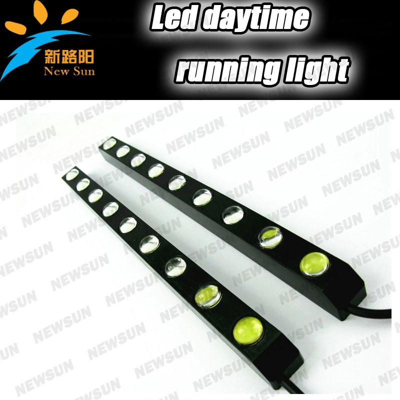 Good price 9w led daytime running light/led drl for skoda for bmw for all cars