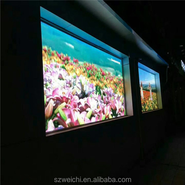 double sided tube video function and indoor usage concert stage background led screen board display