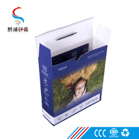 Custom small mobile cell phone accessories packaging boxes with logo