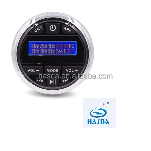 shenzhen supplier wholesale mp3 player with bluetooth radio DAB+ antana for yacht spa sauna pool