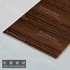 High Gloss Wood Grain UV Coated MDF Board /Wood Grain Melamine Parper Laminated