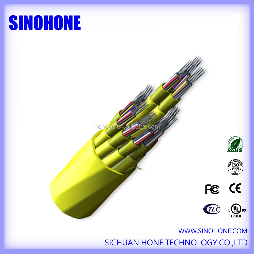 Indoor single mode OS2 distribution fiber optic cable