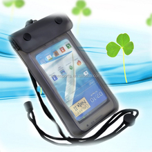 2014 hot sale high quality waterproof pvc zip lock cell phone bag