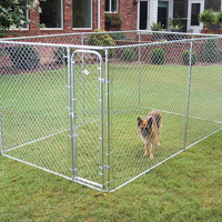 lowes dog kennels and runs/cheap chain link dog kennel wholesale/large dog run kennel