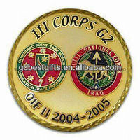 imitation hard enamel customized challenge coins for sale