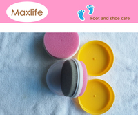 double side instant shoe shine sponge,shoes liquid polish sponge applicator