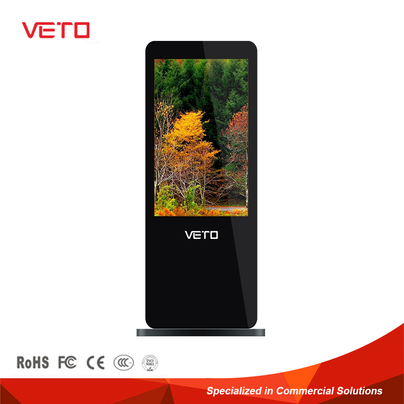 32 42 55 inch floor standing wal mount lcd advertising screen