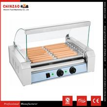CHINZAO Best Selling Products 9 Roller Automatic Corn Hot Dog Grill Machine