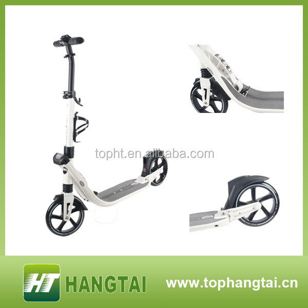 200mm adults kick foot scooter with suspension