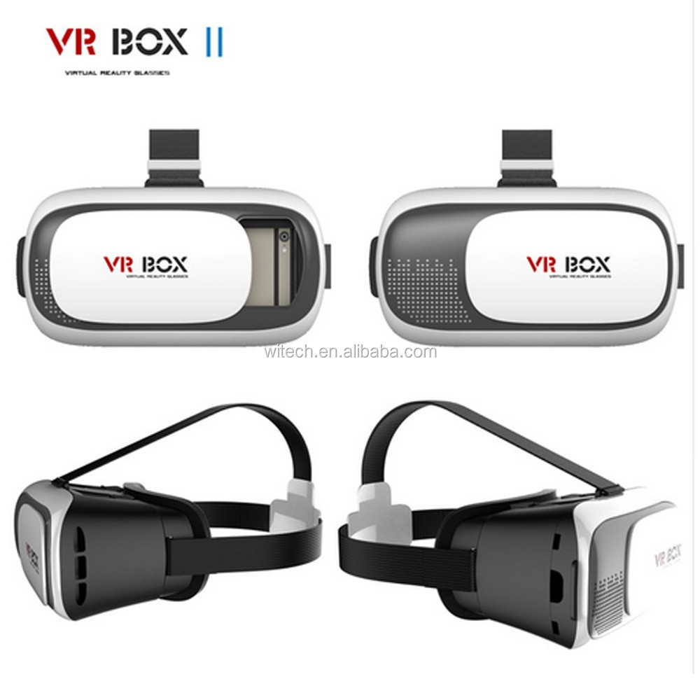 Free shipping CE ROHS REACH 3.5-6.0 inch smartphone vr headset 3d vr box 2.0 with bluetooth remote controller