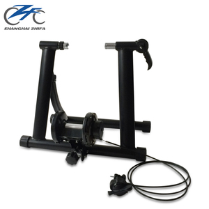 "BBN007 New Indoor Cycle Exercise Steel Frame With Magnetic Wheel Home 24-28"" Bike Trainer"