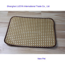 China manufactory hot sale s,m,l square summer cool mat cheap rattan dog bed cheap