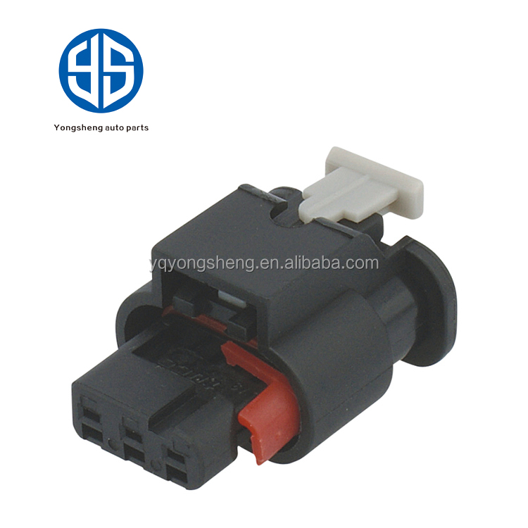 Tyco/Amp 3 way female electric waterproof connectors