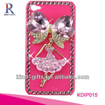Bling Rhinestone Design Diamond Phone Case For Iphone5C 5S China Supplier