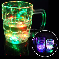 Wholesale 550ml magic gift cup ,Led beer glass ,led beer mug