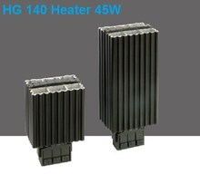 China best selling excellent performance 45W small electric enclosure DIN rail heater
