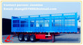 two or three axle box type cargo trailers