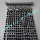 Amazing Decoraing 10mm Gunmetal Metal Beaded String Curtain