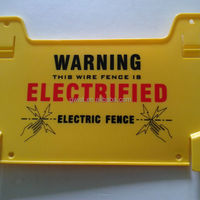 Perimeter Security Electric Fence Warning Sign