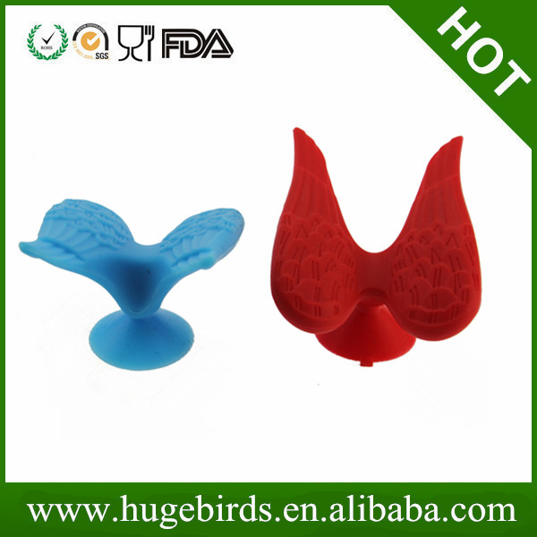 Angel wings Shape silicone mobile stand