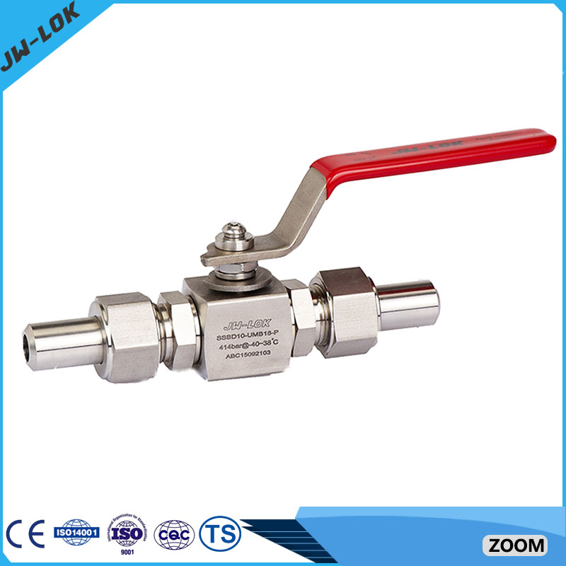 2 inch Stainless steel High Pressure ball valve